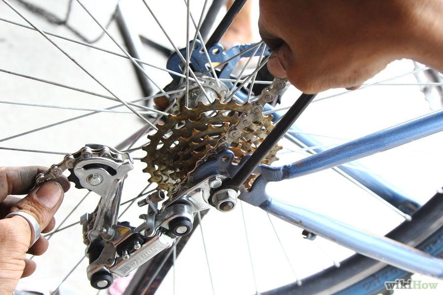 Как снять цепь с велосипеда без выжимки и без замка на горном скоростном велосипеде