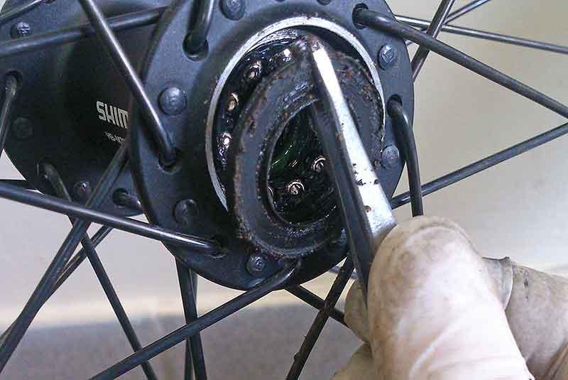 Велосипедные втулки передние и задние, устройство велосипедной втулки, ремонт