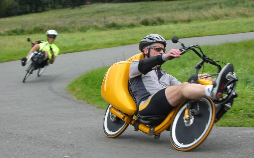 Устройство лежачего велосипеда - рикамбента
