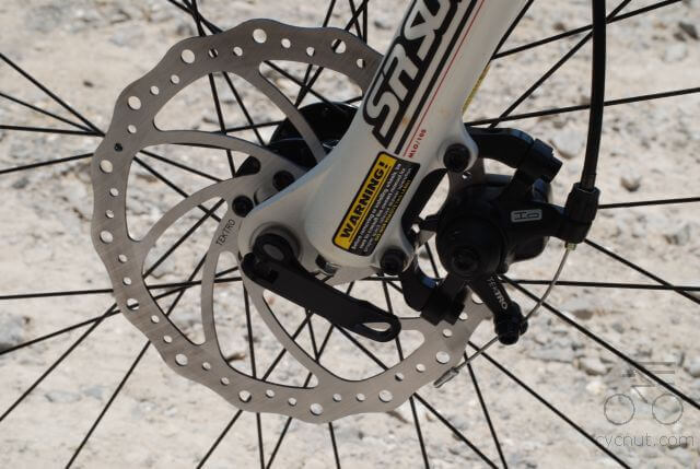Установка дисковых тормозов на велосипед своими руками