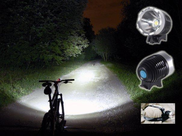 Как выбрать передний фонарь для велосипеда