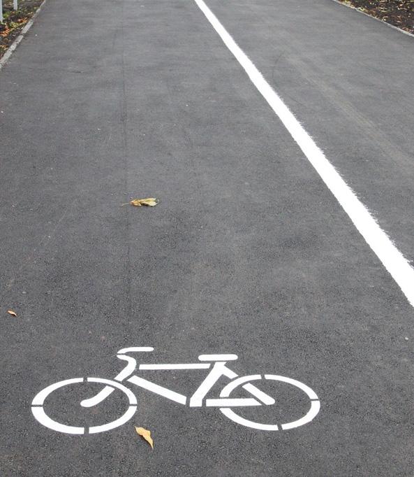 Велосипедная дорожка: что это такое, виды и пдд