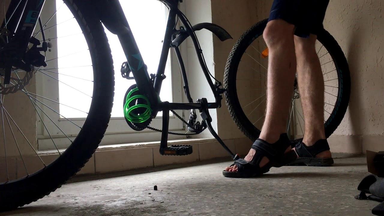 Как поменять камеру на велосипеде