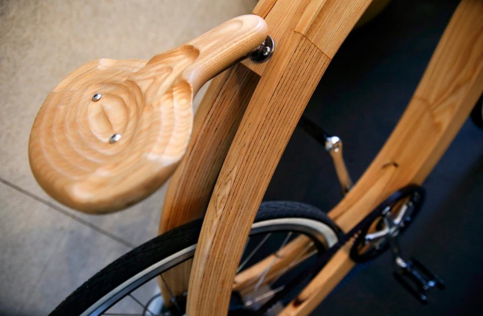 Самая простая деревянная рама для велосипеда. изготовление деревянного велосипеда своими руками