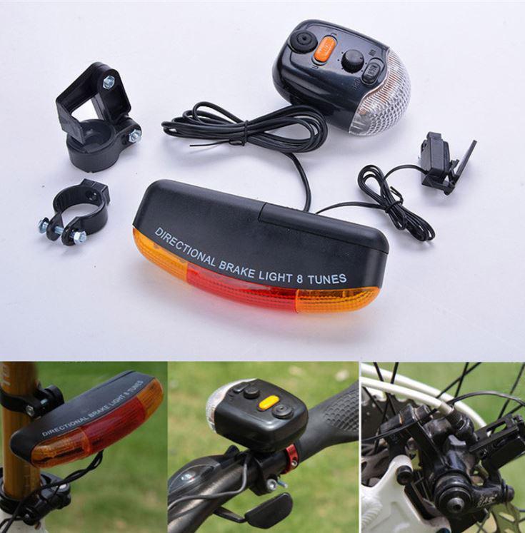 Сигналы на велосипед - велосипедный звонок (велозвонок), поворотники и стоп-сигналы