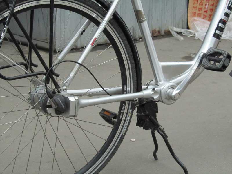 Карданный велосипед