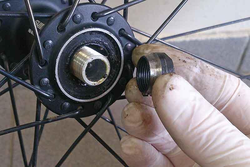 Как разобрать и собрать заднее колесо скоростного велосипеда, описание