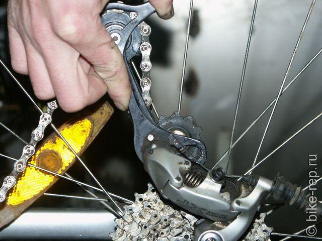 Как укоротить цепь на велосипеде, инструменты, действия пошагово