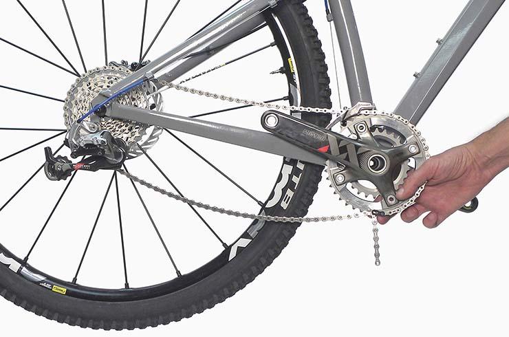 Как натянуть или подтянуть велосипедную цепь?