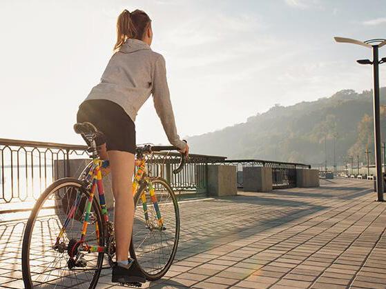 Какие мышцы работают на велосипеде? велосипед для похудения