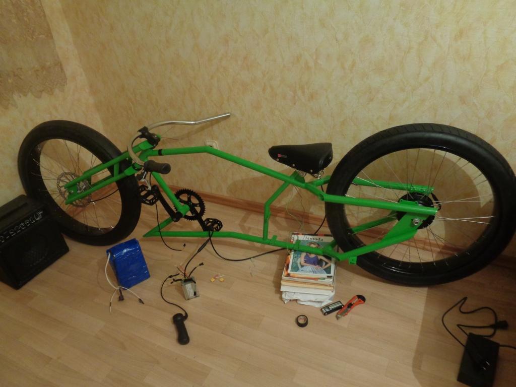 Кастом велосипед своими руками