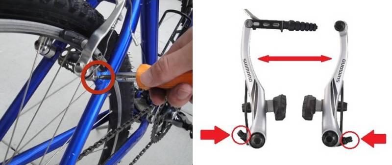 Все про задний тормоз на велосипеде
