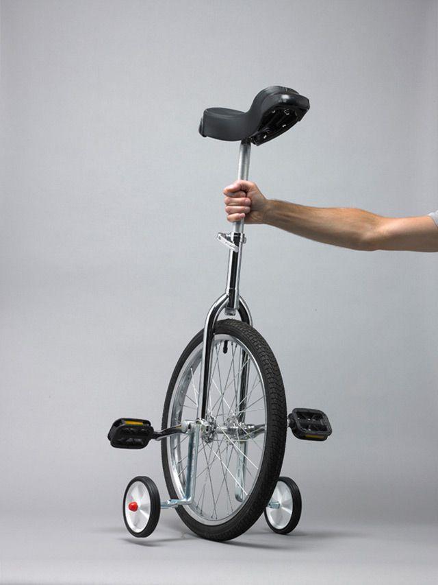 Уницикл (моноцикл): комплектация одноколесных велосипедов