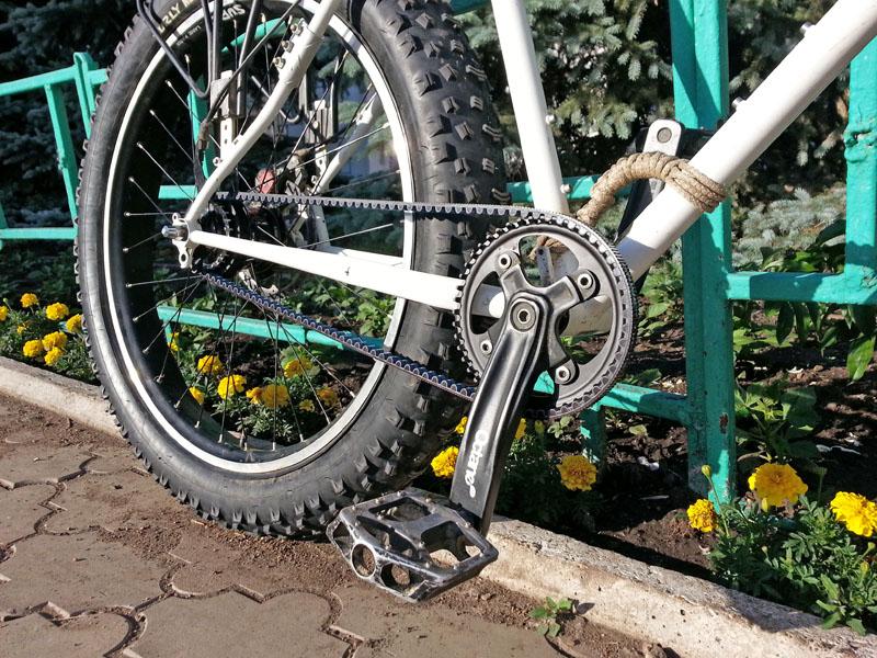 Мой велосипед с ременным приводом gates carbon drive cdx