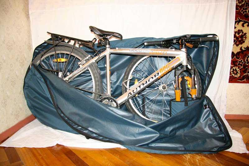 Как перевезти велосипед в самолете в чехле, как упаковать для перевозки велосипед