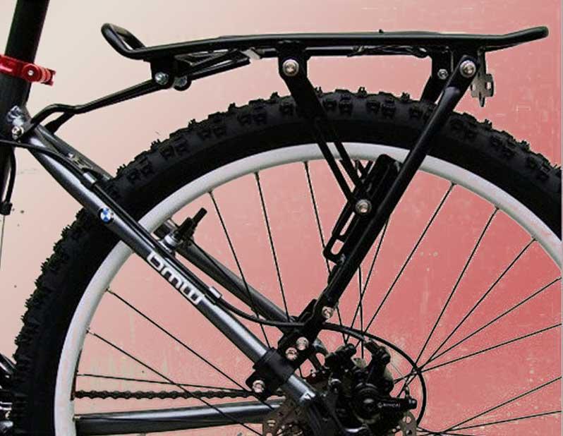 Багажник для велосипеда своими руками и его установка