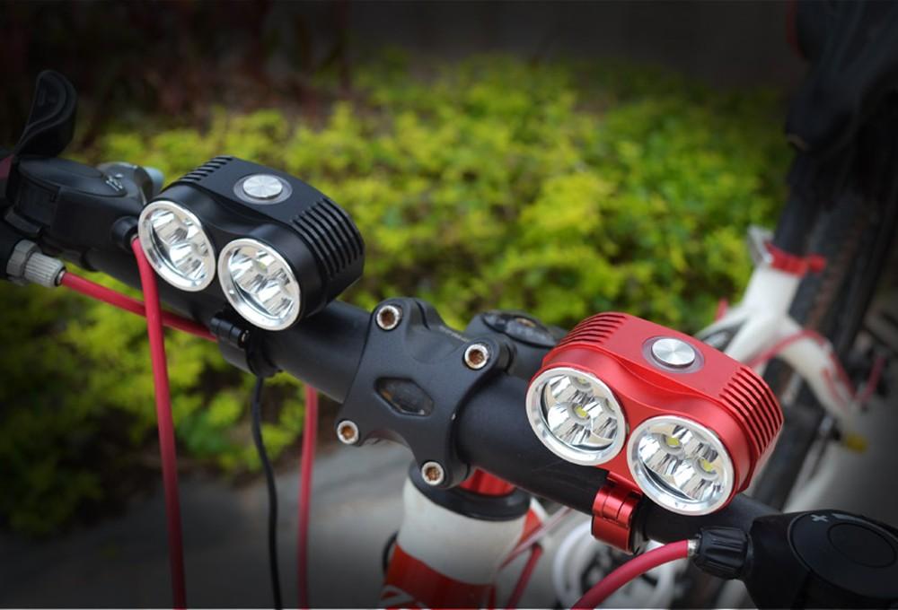 Аккумуляторный светодиодный велофонарь (проектор): как его выбрать?
