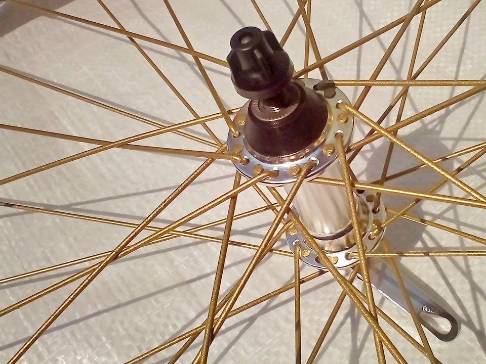 Конструкции велосипедов без спиц