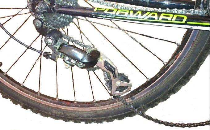 Как натянуть и отрегулировать велосипедную цепь