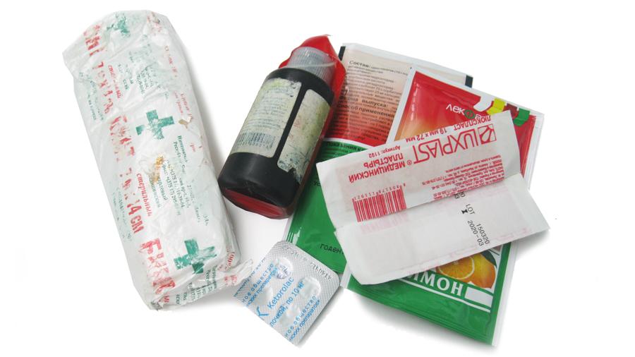 Аптечка для велотуризма и кемпинга: список медикаментов для велотура