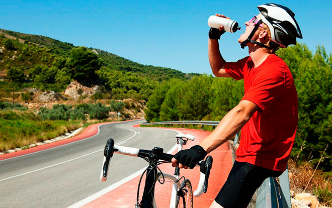 Что есть и пить велосипедисту