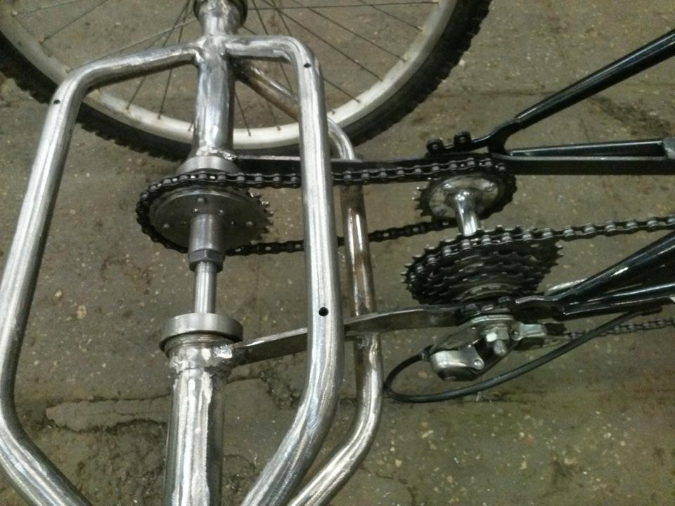 Трехколесный велосипед взрослый своими руками чертежи