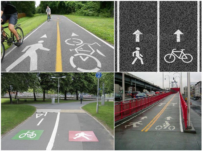 Конспект занятия по пдд «предписывающие знаки «велосипедная дорожка» и «пешеходная дорожка» для детей старшей группы