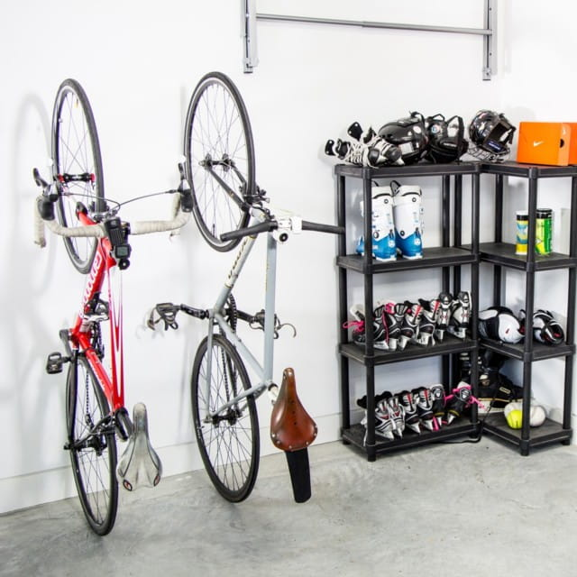 Способы хранения велосипеда: в гараже, квартире, на балконе
