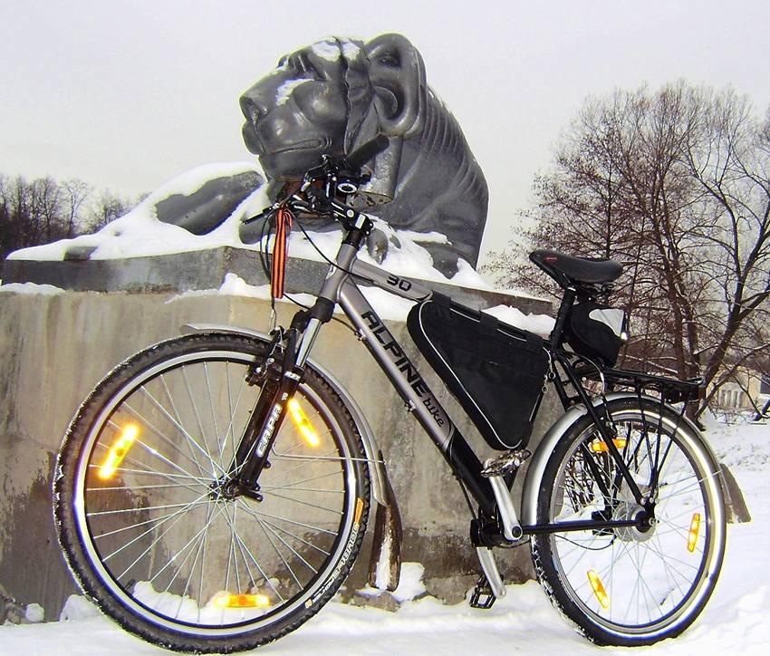 Велосипед с карданным приводом — экстрим спорт