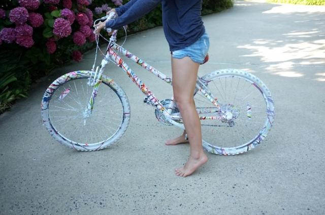 Как самому покрасить велосипед