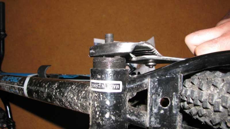 Обслуживание и ремонт велосипедной каретки