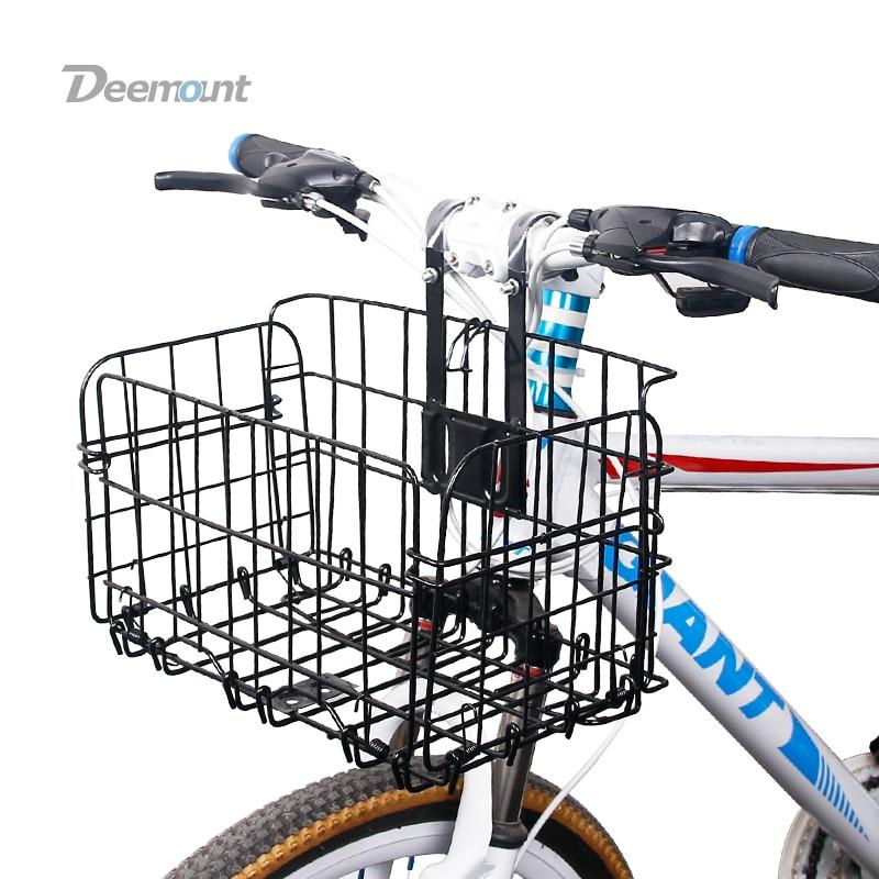 Как установить корзину на велосипед