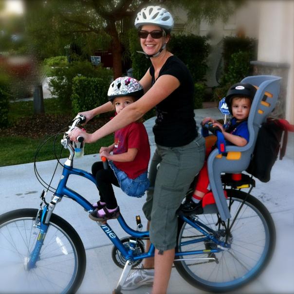 Сиденья для детей на велосипед