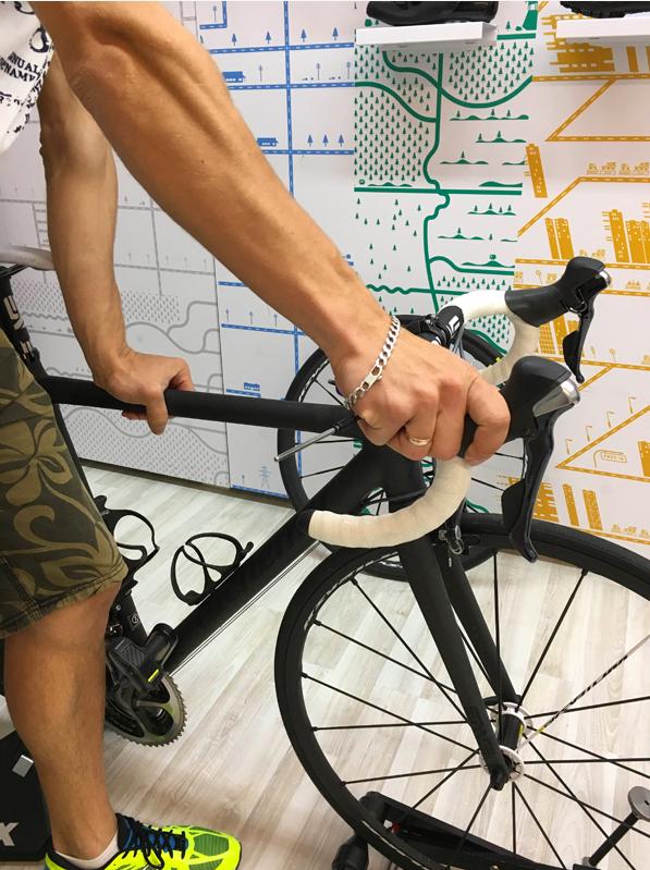 Регулировки седла велосипеда