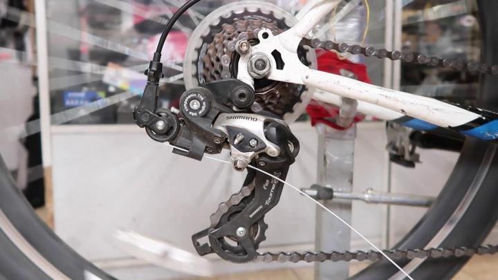 Типы переключателей скоростей велосипеда