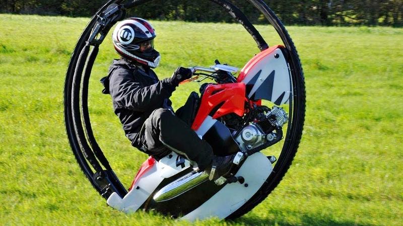 Велосипед с одним колесом как называется
