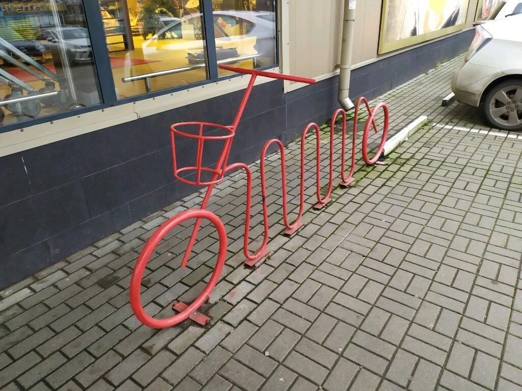 Как сделать стоянку для велосипедов своими руками?