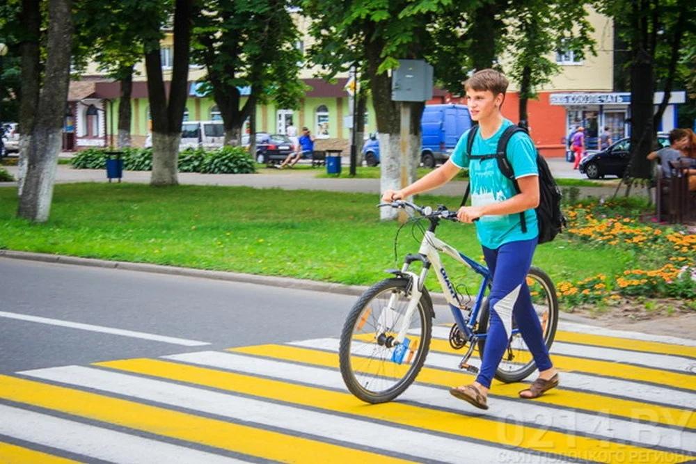 Можно ли ехать по пешеходному переходу на велосипеде?