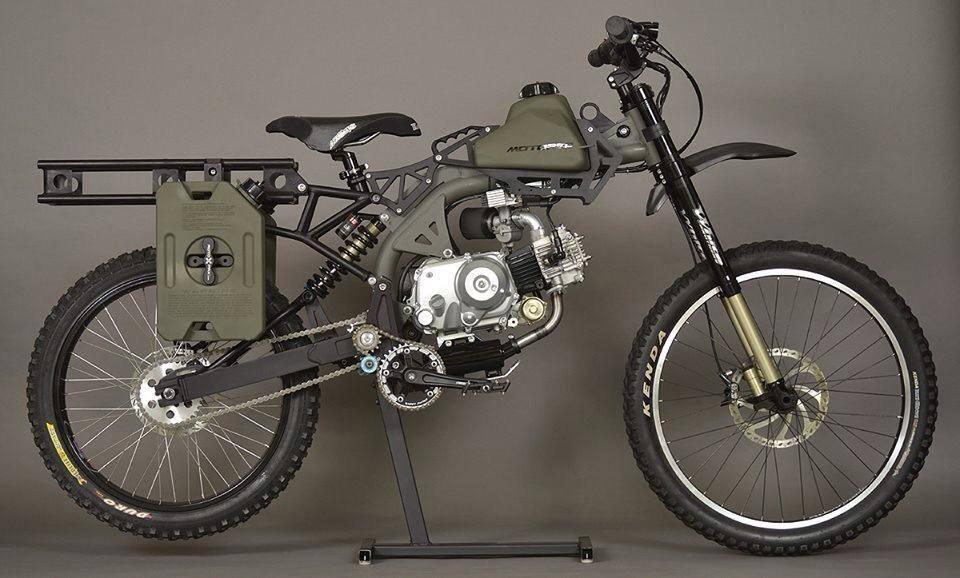 Как сделать велосипед с мотором?