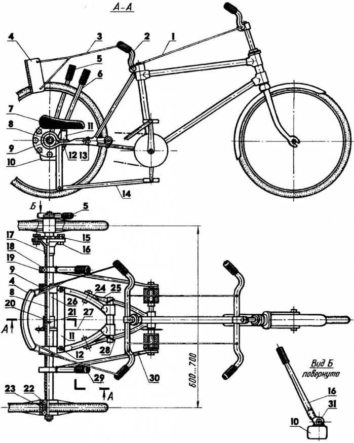 Как собрать велосипед самостоятельно по запчастям. Советы и рекомендации