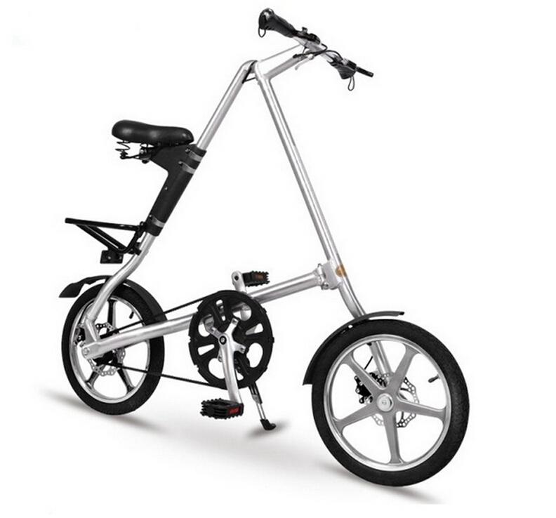 Особенности складных велосипедов с маленькими колесами