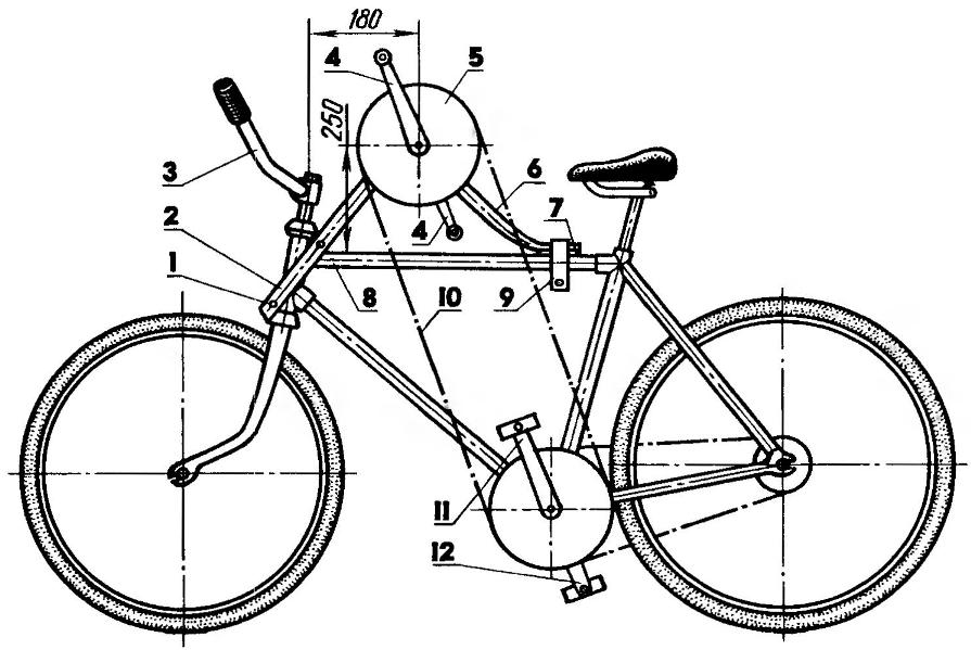 Устройство и разновидности кареток для велосипеда