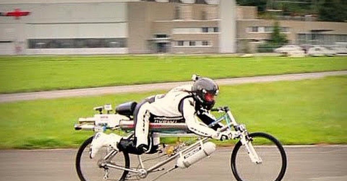 Максимальная скорость шоссейного велосипеда