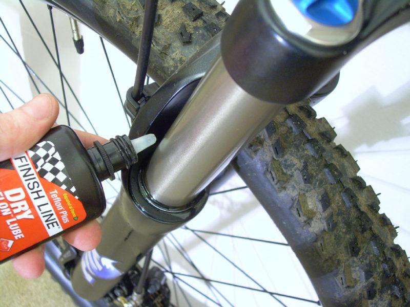 Как правильно смазывать горный велосипед?