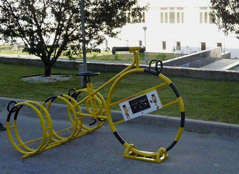 Как обустраивается парковка для велосипедов (стоянка) своими руками