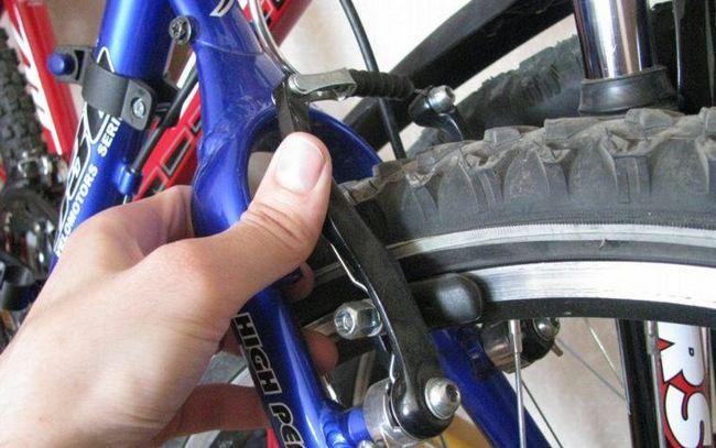 Регулировка тормозов на велосипеде
