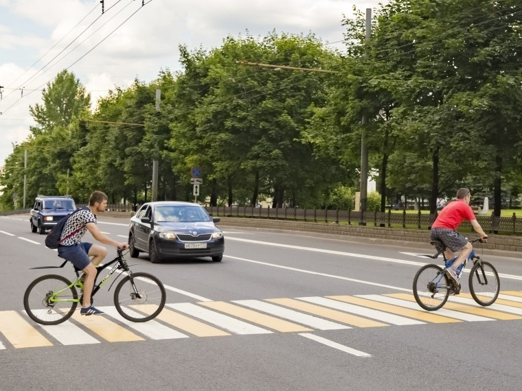 Можно ли переезжать на велосипеде по пешеходному переходу - все о велосипедах