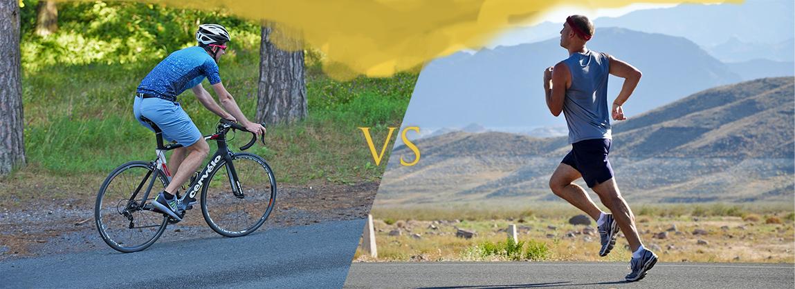 Бег или велосипед: что лучше для похудения