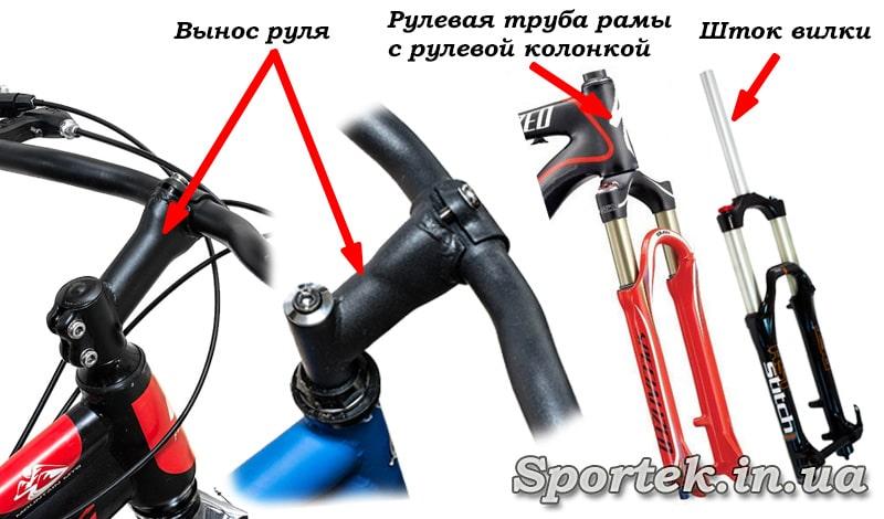 Как поднять руль на велосипеде - горном и детском; видео инструкция