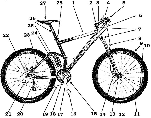 Устройство велосипеда: все об организме железного друга